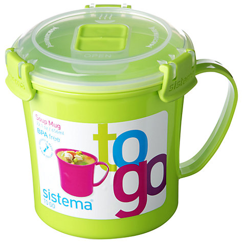 Buy Sistema Soup To Go Mug Online at johnlewis.com