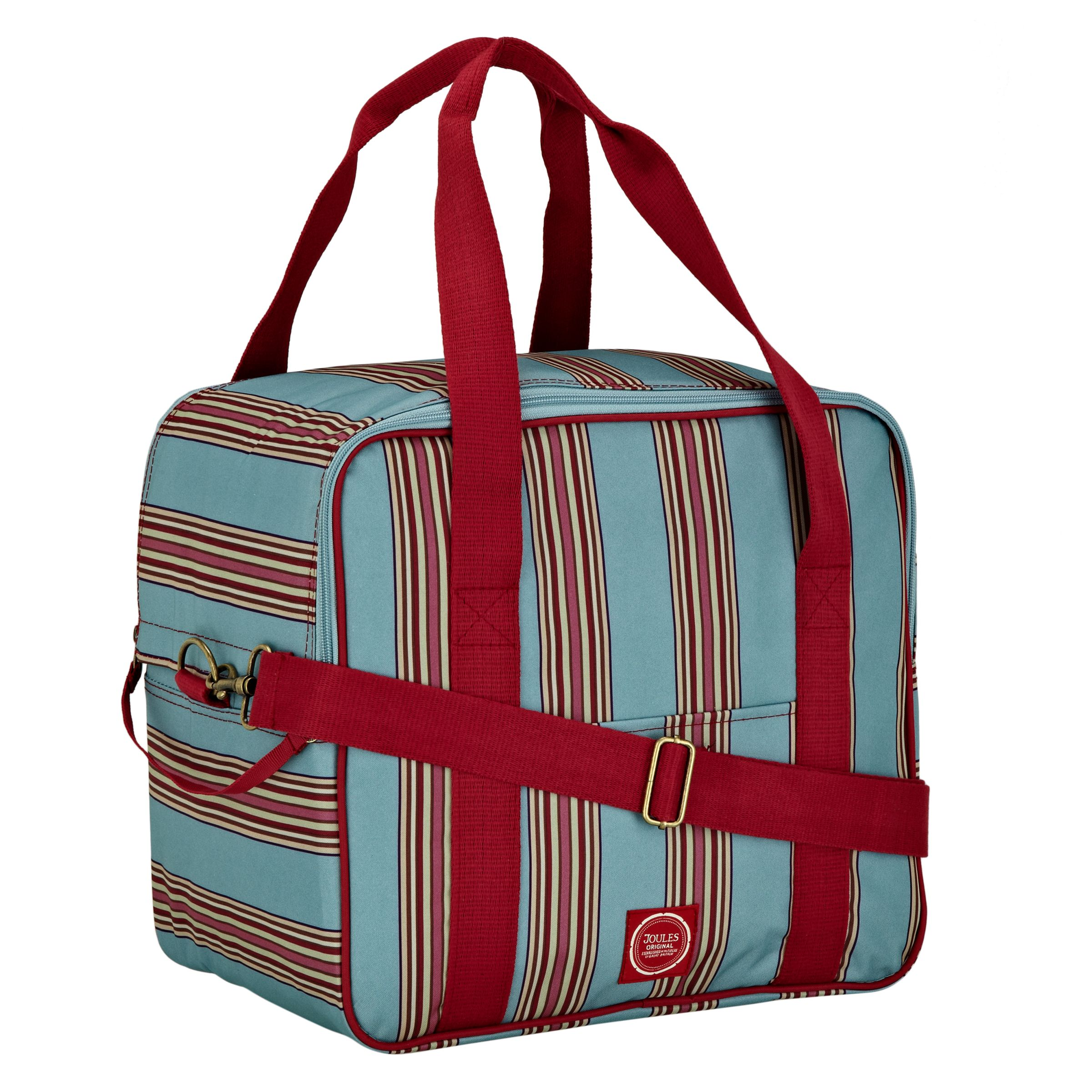 Joules Stripe Family Coolbag, Multi
