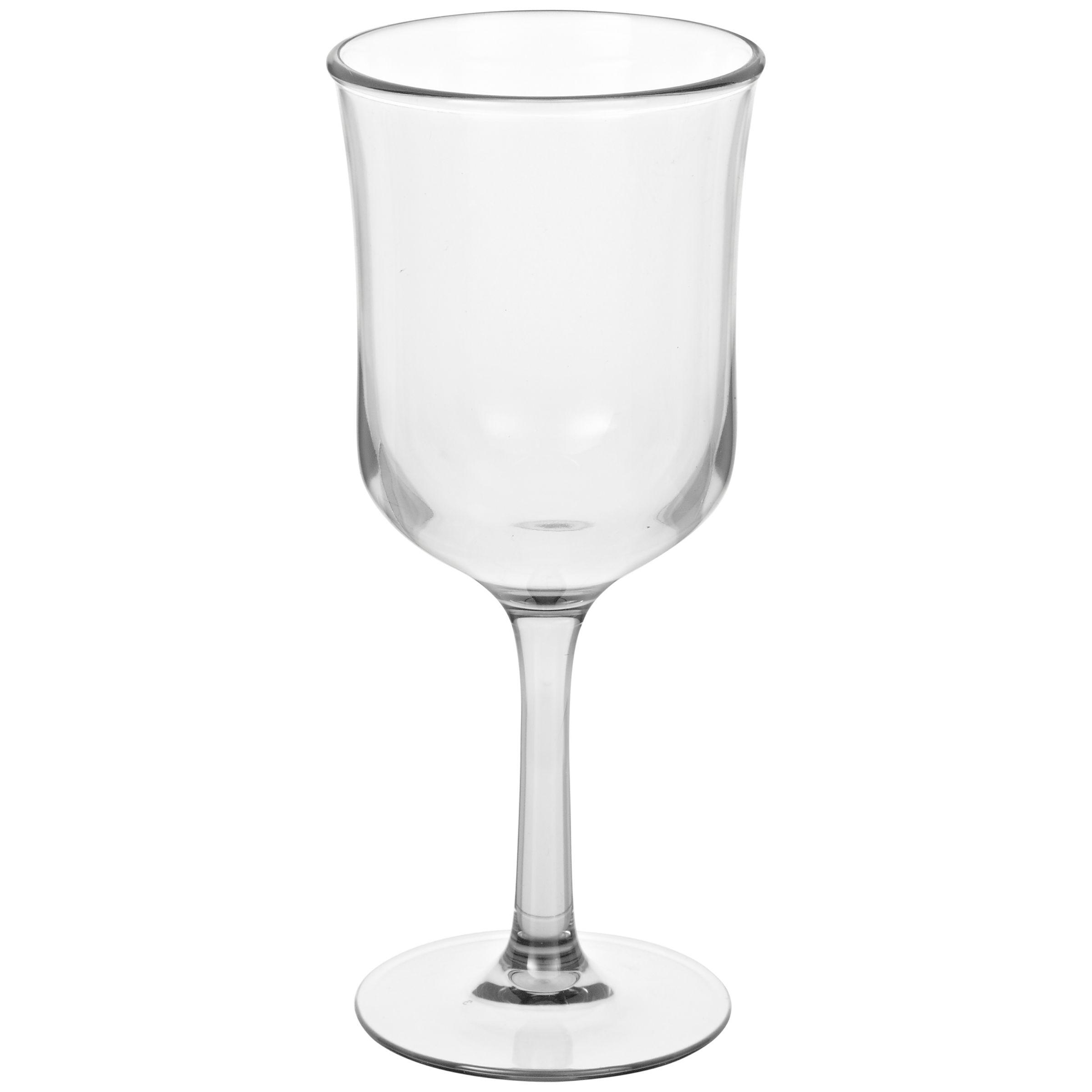 John Lewis Milky Grey Wine Glass