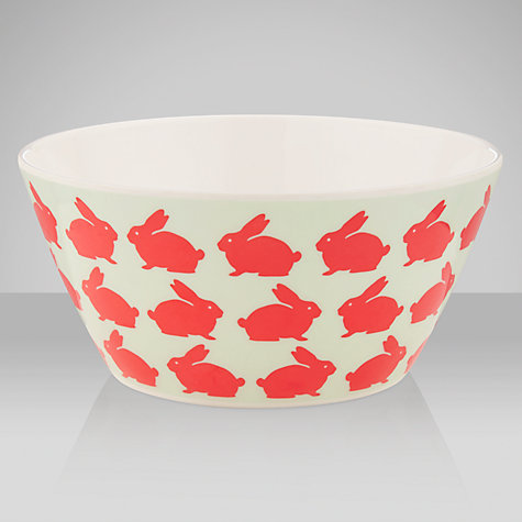 Buy Anorak Kissing Rabbits Bowl Online at johnlewis.com