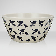 Buy Anorak Kissing Robins Bowl, Navy/Cream Online at johnlewis.com