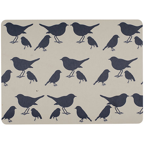Buy Anorak Kissing Robins Placemat, Set of 4 Online at johnlewis.com