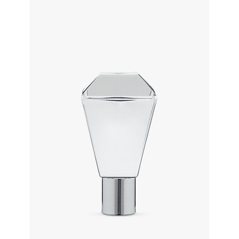 Buy John Lewis Glass Square Prism Square Acorn Cord Pull, Clear Online at johnlewis.com