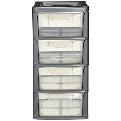 Buy John Lewis Tower Storage, Small, 4 Drawers Online at johnlewis.com