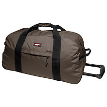 Buy Eastpak Container 85 2-Wheel Duffle Bag, Brown Online at johnlewis.com