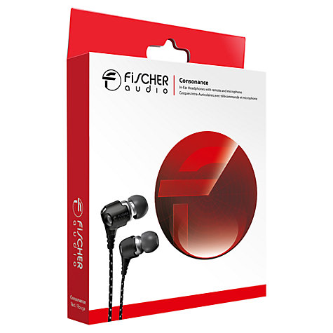 Buy Fischer Audio Consonance In-Ear Headphones with Microphone Online at johnlewis.com