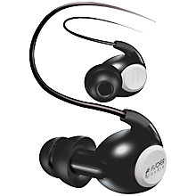 Buy Fischer Audio Eterna In-Ear Headphones with Microphone, Black Online at johnlewis.com