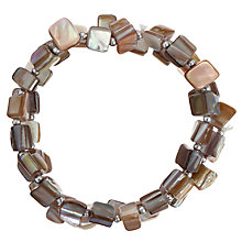 Buy John Lewis Nugget Bracelet, Natural Online at johnlewis.com