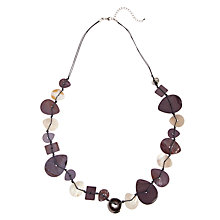 Buy John Lewis Shell Necklace, Cream Online at johnlewis.com