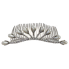 Buy John Lewis Faux Pearl and Diamante Dress Comb Online at johnlewis.com