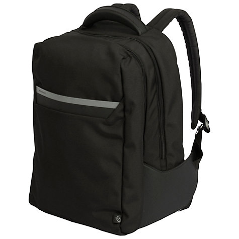 "Buy Mandarina Duck Work 14"" Laptop Backpack, Black Online at johnlewis.com"