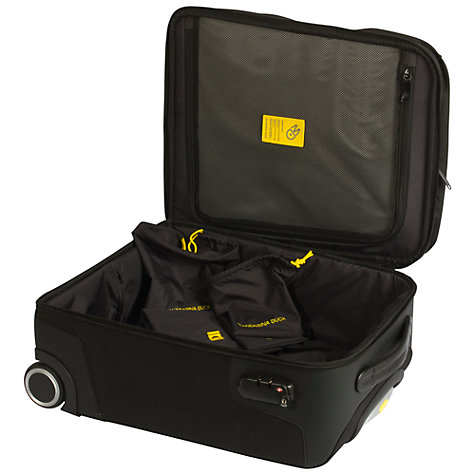 Buy Mandarina Duck Work 2-Wheel Cabin Suitcase, Black Online at johnlewis.com