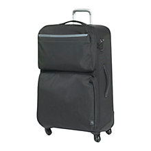 Buy Mandarina Duck Work 4-Wheel Large Suitcase, Black Online at johnlewis.com