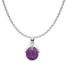 Buy Kit Heath Fantasea Necklace, Purple Online at johnlewis.com
