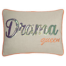 Buy John Lewis Drama Queen Cushion, Multi Online at johnlewis.com