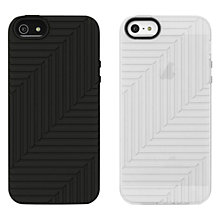 Buy Belkin Matte Flex Cases for iPhone 5, Twin Pack, Black/Clear Online at johnlewis.com