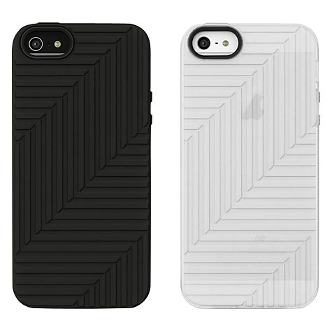 Buy Belkin Matte Flex Cases for iPhone 5 & 5s, Twin Pack, Black/Clear Online at johnlewis.com