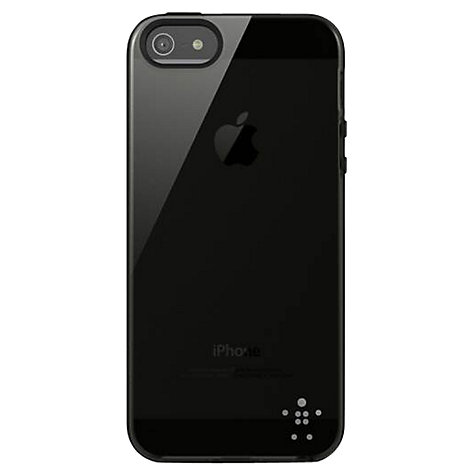 Buy Belkin Translucent Grip Case for iPhone 5 & 5s, Smokey Black Online at johnlewis.com
