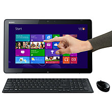 "Buy Sony SVJ2021V1EW TAP 20 AIO Desktop, Intel Core i5, 1.7GHz, 6GB RAM, 1TB, 20"" Touch Screen Online at johnlewis.com"