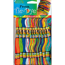 Buy Prism Tie Dye Floss Skeins, Multi, Pack of 36 Online at johnlewis.com