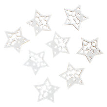 Buy John Lewis Paper Toppers, Sparkle Stars, Pack of 8 Online at johnlewis.com