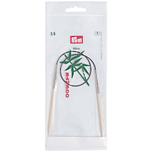 Buy Prym Bamboo 3.5mm Circular Knitting Needles and Cords Online at johnlewis.com