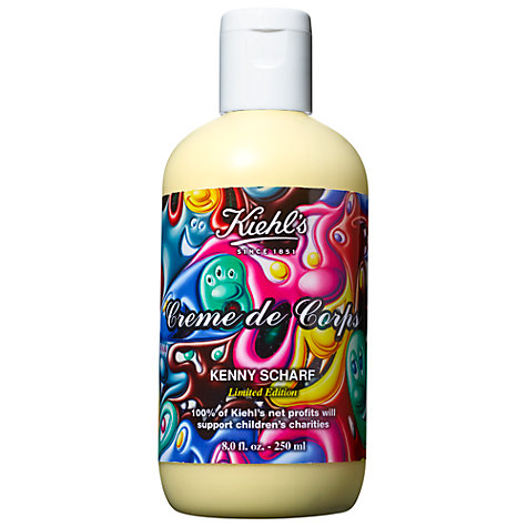 Buy Kiehl's Limited Edition Kenny Scharf Creme de Corps, 250ml Online at johnlewis.com