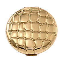 Buy Estée Lauder Slim Alligator Metal Compact Online at johnlewis.com
