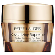 Buy Estée Lauder Revitalizing Supreme Global Anti-Aging Eye Balm, 15ml Online at johnlewis.com
