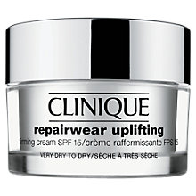 Buy Clinique Repairwear Uplifting SPF15 Firming Cream - Skin Type 1, 50ml Online at johnlewis.com
