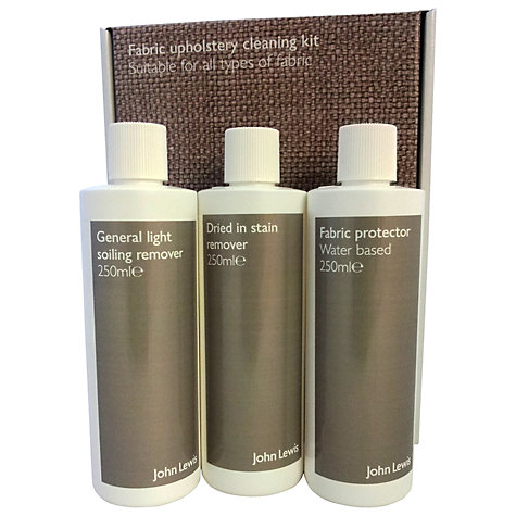 Buy John Lewis Fabric Upholstery Cleaning Kit Online at johnlewis.com