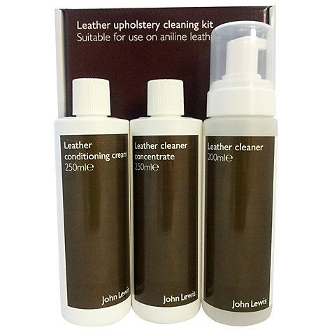 Buy John Lewis Leather Aniline Furniture Cleaning Kit Online at johnlewis.com