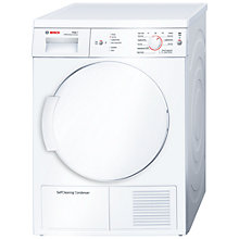Buy Bosch WTW84160GB Sensor Condenser Tumble Dryer, 7kg Load, A+ Energy Rating, White Online at johnlewis.com