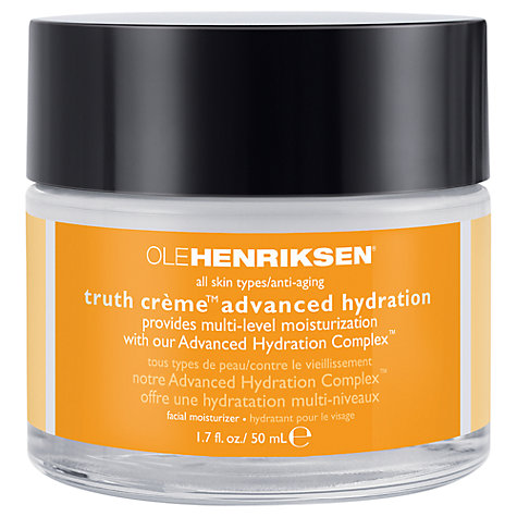 Buy OLEHENRIKSEN Truth Crème Advanced Hydration, 50ml Online at johnlewis.com