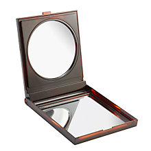 Buy Large Folding Make-Up Mirror, Tortoiseshell Online at johnlewis.com