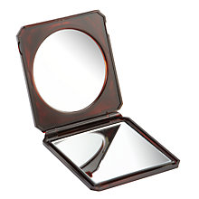 Buy Compact Mirror, Tortoiseshell Online at johnlewis.com