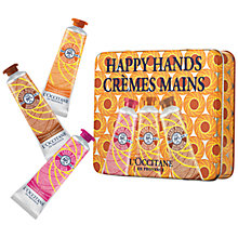 Buy L'Occitane Happy Hands Creme Trio, 3 x 30ml Online at johnlewis.com