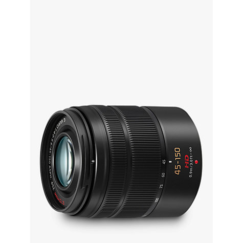 Buy Panasonic LUMIX G VARIO 45-150mm f/4.0-5.6 ASPH OIS Telephoto Lens Online at johnlewis.com