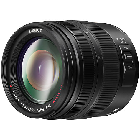 Buy Panasonic LUMIX G X VARIO 12-35mm f/2.8 ASPH POWER OIS Standard Lens Online at johnlewis.com