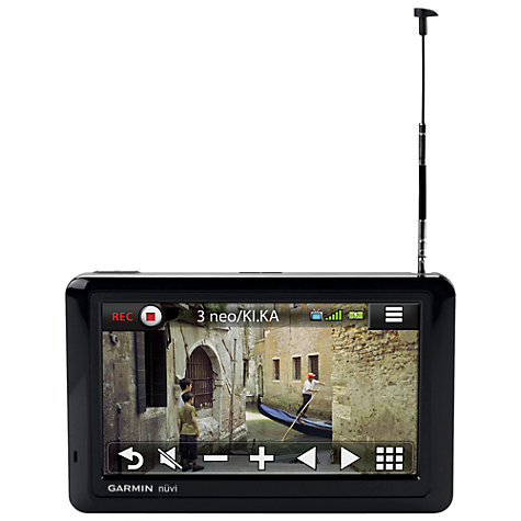 Buy Garmin nüvi 2585TV GPS Navigation System with Freeview, European Maps including UK & Ireland Online at johnlewis.com