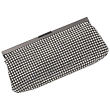 Buy Jaeger Felicity Crystal Bag, Pewter Online at johnlewis.com