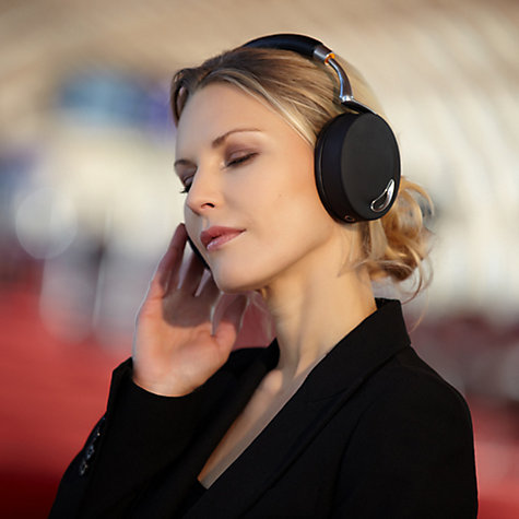 Buy Parrot Zik by Starck Full Size Wireless Headphones with Microphone, Black/Silver Online at johnlewis.com
