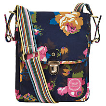 Buy Joules Witnell Floral Print Canvas Across Body Handbag Online at johnlewis.com