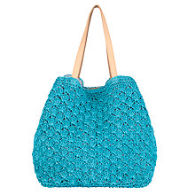 Buy Collection WEEKEND by John Lewis Straw Shopper Handbag Online at johnlewis.com