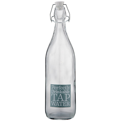 Buy Garden Trading Glass Water Bottle Online at johnlewis.com