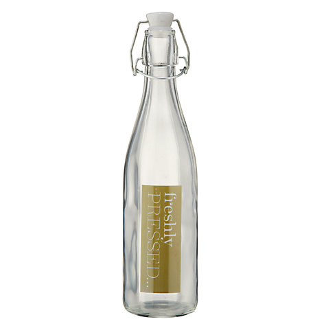 Buy Garden Trading Freshly Pressed Glass Bottle Online at johnlewis.com