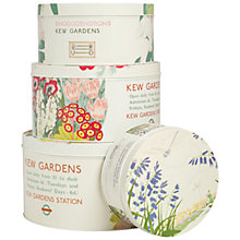 Buy Kew Gardens London Underground Cake Tins, Set of 4 Online at johnlewis.com