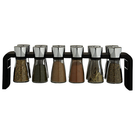 Buy Cole & Mason 12 Jar Spice Rack Online at johnlewis.com