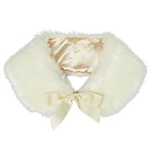 Buy John Lewis Girl Faux Fur Shoulder Wrap Online at johnlewis.com