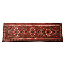 Buy Karajeh Handmade Runner, Red, L200 x W75cm Online at johnlewis.com